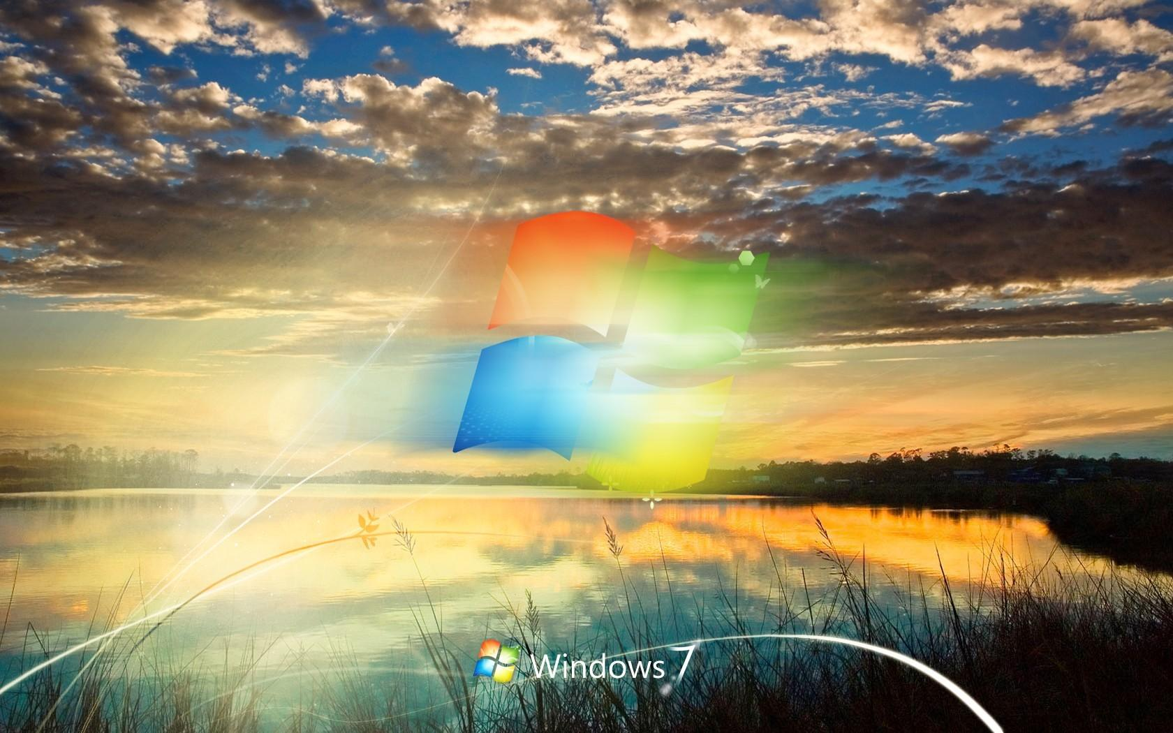 Природа Windows 7 1680x1050